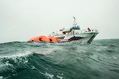 23.08.2002 Viking Life-Saving Equipment,  test på Island