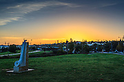 Dawn in Rosh Haayin, Israel