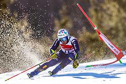 02.03.2020, Hannes Trinkl Weltcupstrecke, Hinterstoder, AUT, FIS Weltcup Ski Alpin, Riesenslalom, Herren, 1. Lauf, im Bild Luca De Aliprandini (ITA) // Luca De Aliprandini of Italy in action during 1st run of men's Giant Slalom of FIS ski alpine world cup at the Hannes Trinkl Weltcupstrecke in Hinterstoder, Austria on 2020/03/02. EXPA Pictures © 2020, PhotoCredit: EXPA/ Johann Groder