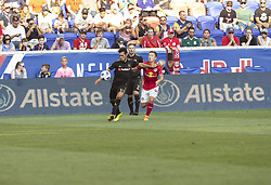 August 5, 2018 - Harrison, New Jersey, United States - Benny Feilhaber (33) of LAFC controls ball during regular MLS game against Red Bulls at Red Bull Arena Red Bulls won 2 - 1 (Credit Image: © Lev Radin/Pacific Press via ZUMA Wire)