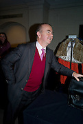 IAN HISLOP, Master and Commanders by Andrew Roberts book launch. Sotheby's Bond Street . London. 13 October 2008 *** Local Caption *** -DO NOT ARCHIVE -Copyright Photograph by Dafydd Jones. 248 Clapham Rd. London SW9 0PZ. Tel 0207 820 0771. www.dafjones.com
