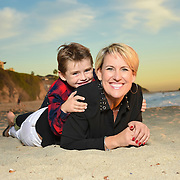 Clark Family Portrait Session Laguna Beach 2015