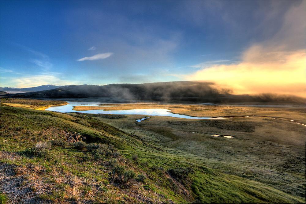 Hayden Valley Sunrise, Yellowstone