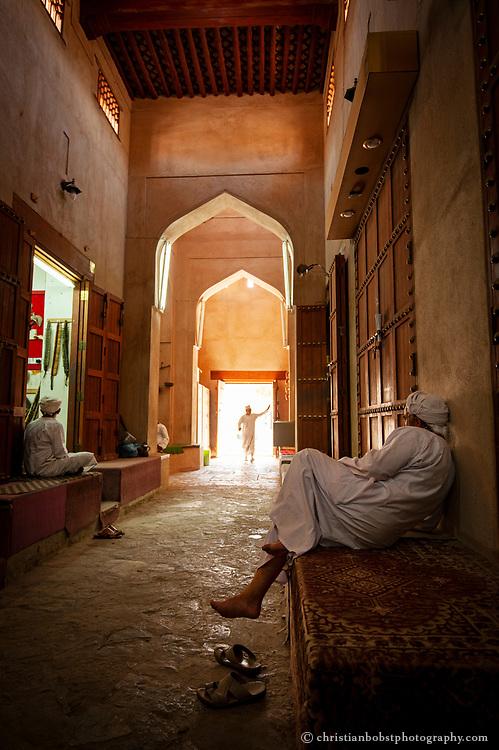 Old part of the Nizwa Souk, Oman 2011