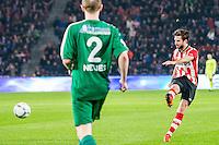 EINDHOVEN - PSV - SC Genemuiden , Voetbal , KNVB Beker , Seizoen 2015/2016 , Philips stadion , 25-10-2015 , PSV speler Davy Propper scoort de 5-0
