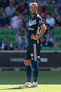 MELBOURNE, VIC - JANUARY 20: Melbourne Victory forward Ola Toivonen (11) looks on during the Hyundai A-League Round 14 soccer match between Melbourne Victory and Wellington Phoenix at AAMI Park in VIC, Australia on 20th January 2019. Image by (Speed Media/Icon Sportswire)