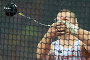 Great Britain, London - 2017 August 09: Wojciech Nowicki (Podlasie Bialystok) of Poland competes in men&rsquo;s hammer throw qualification during IAAF World Championships London 2017 Day 6 at London Stadium on August 09, 2017 in London, Great Britain.<br /> <br /> Mandatory credit:<br /> Photo by &copy; Adam Nurkiewicz<br /> <br /> Adam Nurkiewicz declares that he has no rights to the image of people at the photographs of his authorship.<br /> <br /> Picture also available in RAW (NEF) or TIFF format on special request.<br /> <br /> Any editorial, commercial or promotional use requires written permission from the author of image.