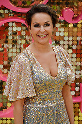 © Licensed to London News Pictures. 29/06/2016. JULIA SAWALHA attends the ABSOLUTELY FABULOUS world film premiere. London, UK. Photo credit: Ray Tang/LNP