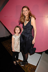 Co-founder of the Kiss it Better appeal CARMEL ALLEN and her daughter JOJO at a receotion to launch the Kiss It Better Appeal in aid of the Great Ormond Street Hosoital supported by Clinique - held at Harrods, Knightsbridge, London on 30th January 2008.<br /> <br /> NON EXCLUSIVE - WORLD RIGHTS (EMBARGOED FOR PUBLICATION IN UK MAGAZINES UNTIL 1 MONTH AFTER CREATE DATE AND TIME) www.donfeatures.com  +44 (0) 7092 235465