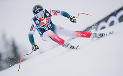 25.01.2020, Streif, Kitzbühel, AUT, FIS Weltcup Ski Alpin, Abfahrt, Herren, im Bild Victor Schuller (FRA) // Victor Schuller of France in action during his run in the men's downhill of FIS Ski Alpine World Cup at the Streif in Kitzbühel, Austria on 2020/01/25. EXPA Pictures © 2020, PhotoCredit: EXPA/ JFK