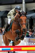 Khaled Abdulaziz Al Eid - Jument Dufee<br /> Outdoor Gelderland 2010<br /> &copy; DigiShots