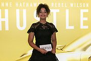 2019, May 09. Pathe ArenA, Amsterdam, the Netherlands. Stephanie van Eer at the dutch premiere of The Hustle.