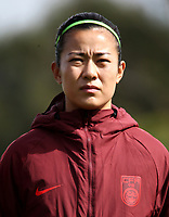 International Women's Friendly Matchs 2019 / <br /> Womens's Algarve Cup Tournament 2019 - <br /> Denmark v China 1-0 ( Complexo Desportivo - Vila Real Santo Antonio,Portugal ) - <br /> LI JIAYUE of China