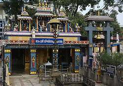 July 26, 2018 - Thiruvananthapuram, Kerala, India - Ganapathy Temple in the city of Thiruvananthapuram (Trivandrum), Kerala, India. This Hindu temple is dedicated to Lord Ganesh. (Credit Image: © Creative Touch Imaging Ltd/NurPhoto via ZUMA Press)