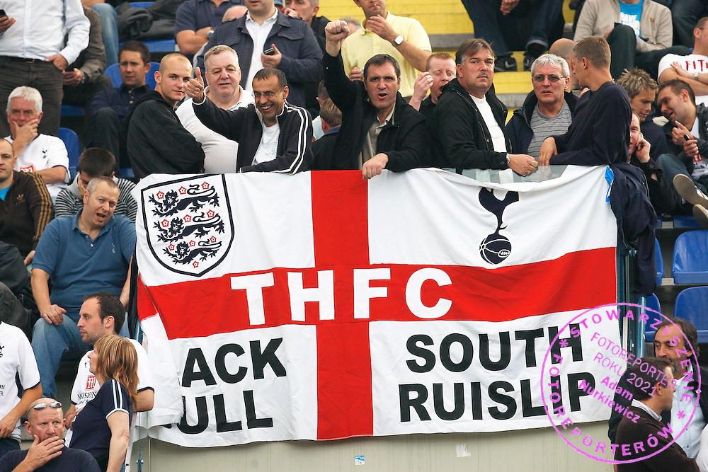 Tottenham Hotspur fans ...--------------------..Piotr Hawalej ..UEFA Cup - First Round..Second Leg..Wisla Krakow v Tottenham Hotspur..2 October 2008..FOT. PIOTR HAWALEJ / WROFOTO