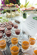Is this the world's most stomach-churningly healthy wedding? Nutritionist bride's 'clean' nuptials involve sunrise yoga, sugar-free menu and organic wine<br /> <br /> When it comes to weddings, sugar-free meals and yoga are not usually the first words that come to mind.<br /> But Australian nutritionist Jessica Sepel, 26, and her new husband Dean Steingold, 30, wanted to prove their healthy lifestyle didn't need to be placed on hold just because they were getting married. <br /> Ms Sepel, who married Mr Steingold on Sunday in an intimate and picturesque Thai ceremony, made sure her wedding day menu was made up of the wholesome and clean foods she and her husband are passionate about.<br /> <br /> 'We wanted a healthy wedding because both Dean and I are committed to a healthy lifestyle...it was important that our wedding reflected this aspect of our lives,'<br /> <br /> 'We also wanted everyone to feel great - something that is easy to do if you're eating the right foods.'<br /> Instead of a traditional breakfast buffet with pastries and croissants, the health conscious bride made sure her guests were offered both savoury and sweet options each morning for breakfast, including sugar-free bliss balls and banana-date-walnut muffins from her recipe book, The Healthy Life.<br /> <br /> They were also served steamed veggies for dinner, fresh fruit for dessert and had access to an impressive vitamin juice station, where healthy shots from a range of different vegetables were set out - all while looking out over idyllic Thai views. <br /> 'On the wedding night there were a range of dishes, including Thai green papaya salad, roasted brussel sprouts, grilled local white snow fish and fresh fruit for dessert,' Ms Sepel said, who admits treating herself to a glass of wine as well. <br /> 'I don't usually drink, but I did enjoy a glass or two of certified organic Australian Chardonnay from Organic One,' she said, 'There are no chemicals used in the manufacturing process which means your body is better able to break down all the alcohol and you're not le