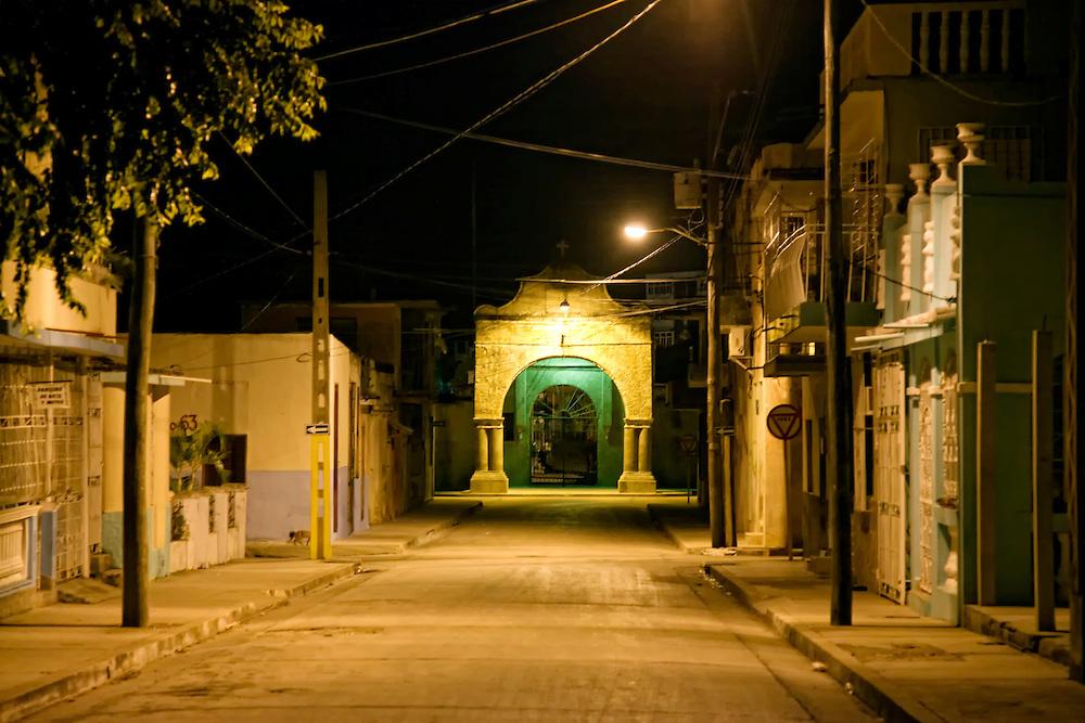 The cemetery in Holguin, Cuba.