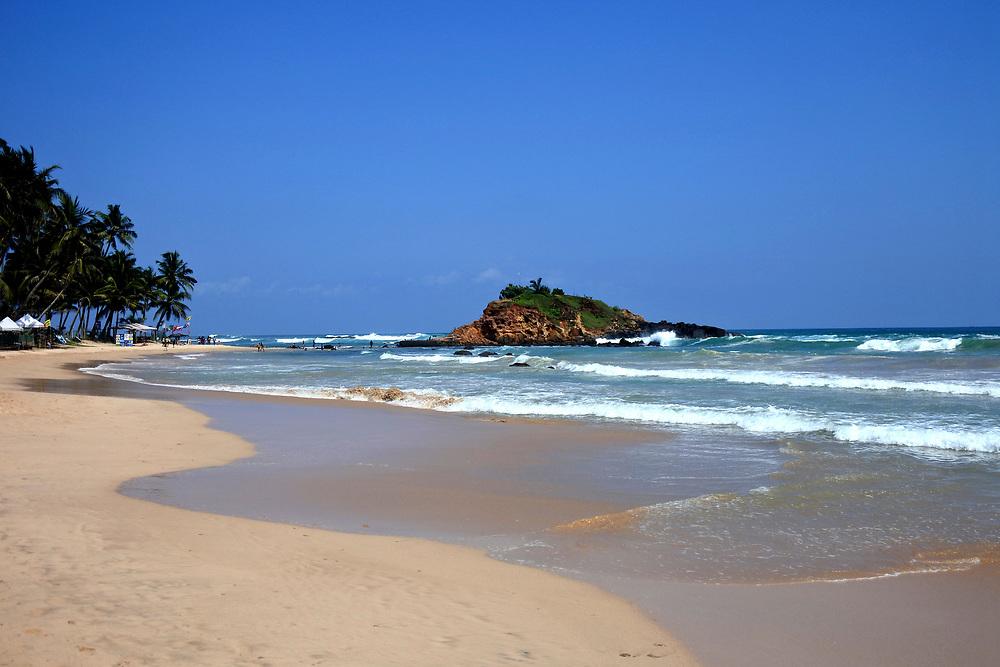 Mirissa Beach on Sri Lanka