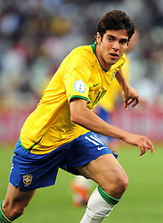 Kaka(10)  during the third soccer match of the 2009 Confederations Cup between Brazil and Egypt played at Vodacom Park,Bloemfontein,South Africa on 15 June 2009.
