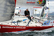 Thierry Chabagny (Gedimat) during the start of the Douarnenez Fastnet Solo 2017 on September 17, 2017 in Douarnenez, France - Photo Francois Van Malleghem / ProSportsImages / DPPI
