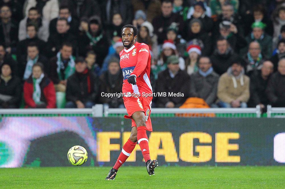 Kassim ABDALLAH  - 21.12.2014 - Saint Etienne / Evian Thonon - 19eme journee de Ligue 1<br /> Photo : Jean Paul Thomas / Icon Sport