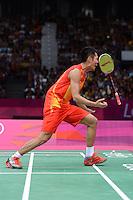 Lin Dan, China, Gold Medal Winner, Mens singles, Olympic Badminton London Wembley 2012, Badminton, Olympics, 2012