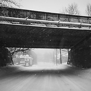 Rail Bridge, 4th Street