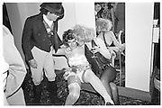 Charlie Ellingworth and Charlotte Horton, Piers Gaveston Ball, Park Lane Hotel 13.05.83© Copyright Photograph by Dafydd Jones 66 Stockwell Park Rd. London SW9 0DA Tel 020 7733 0108 www.dafjones.com