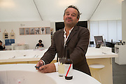 MARK HIX, The VIP preview of Frieze. Regent's Park. London. 16 October 2013