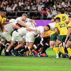 A rolling maul during the Rugby World Cup 2019 Quarter Final match between England and Australia on October 19, 2019 in Oita, Japan. (Photo by Dave Winter/Icon Sport) - --- - Oita Stadium - Oita (Japon)