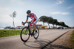 Jure Golcer of KK Adria Mobil during prologue (2km) of 13th Istrian Spring Trophy cycling race on March 10, 2016 in Umag, Croatia. Photo by Urban Urbanc / Sportida