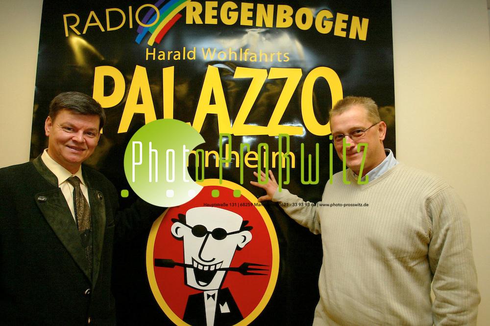Mannheim. Pressekonferenz Palazzo<br /> <br /> Bild: Pro&szlig;witz