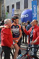 39° Giro del Trentino Melinda, 3 tappa Ala Fierozzo,Yuri Filosi e Nino Marconi, 23 Aprile 2015 © foto Daniele Mosna