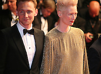 Tom Hiddleston, Tilda Swinton at Only Lovers Left Alive gala screening at the Cannes Film Festival Saturday 26th May May 2013