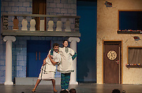 """Gilford High School's production of """"A Funny Thing Happened On The Way To The Forum"""".    Karen Bobotas/for the Laconia Daily Sun"""
