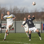 Peter MacDonald and Colin Nish - Dumbarton v Dundee  - SPFL Championship at the Bet Butler Stadium<br /> <br />  - &copy; David Young - www.davidyoungphoto.co.uk - email: davidyoungphoto@gmail.com