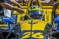 March 9, 2019 - St. Petersburg, Florida, U.S. - ZACH VEACH (26) of the United States prepares for a practice session for the Firestone Grand Prix of St. Petersburg at The Temporary Waterfront Street Course in St. Petersburg Florida. (Credit Image: © Walter G Arce Sr Asp Inc/ASP)