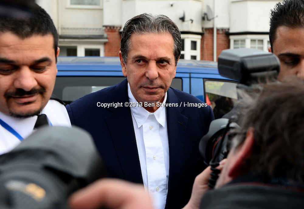 Charles Saatchi arrives at Isleworth Court to give evidence during the fraud trial of Nigella Lawson's two former assistants, Elisabetta Grillo and Francesca Grillo. Friday, 29th November 2013. Picture by Ben Stevens / i-Images<br /> File Photo  - Nigella Lawson and Charles Saatchi PAs cleared of fraud. The trial of Francesca Grillo, 35, and sister Elisabetta, 41, heard they spent £685,000 on credit cards owned by the TV cook and ex-husband Charles Saatchi.<br /> Photo filed Monday 23rd December 2013