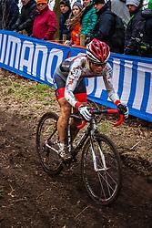 Hikaru KOSAKA (57,JPN), 5th lap at Men UCI CX World Championships - Hoogerheide, The Netherlands - 2nd February 2014 - Photo by Pim Nijland / Peloton Photos