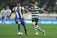 20120107: LISBON, PORTUGAL - Liga Zon Sagres 2011/2012: Sporting CP vs FC Porto.<br />In photo: Rolando and Wolfswinkel<br />PHOTO: Alexandre Pona/CITYFILES