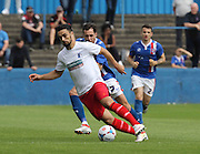 Barrow attack during the Pre-Season Friendly match between Barrow and Carlisle United at Holker Street, Barrow, United Kingdom on 23 July 2016. Photo by Pete Burns.