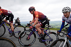 Lisa Klein (GER) with 100 metres to the top of Epynt, the final climb on Stage 5 of 2019 OVO Women's Tour, a 140 km road race from Llandrindod Wells to Builth Wells, United Kingdom on June 14, 2019. Photo by Sean Robinson/velofocus.com