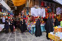 Iran, province d'Ispahan, Ispahan, Grand Bazaar, Bazar e Bozorg // Iran, Isfahan, Great bazaar, Bazar e Bozorg