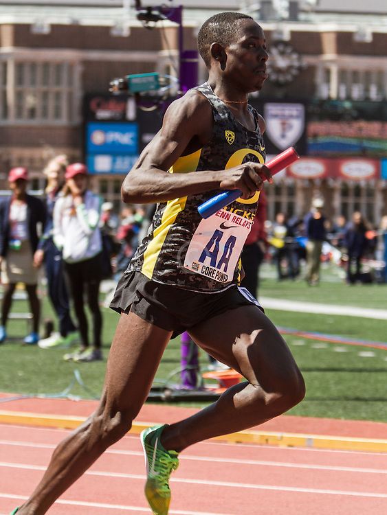 Penn Relays, College Mens Distance Medley Relay, Edward Cheserek, Oregon