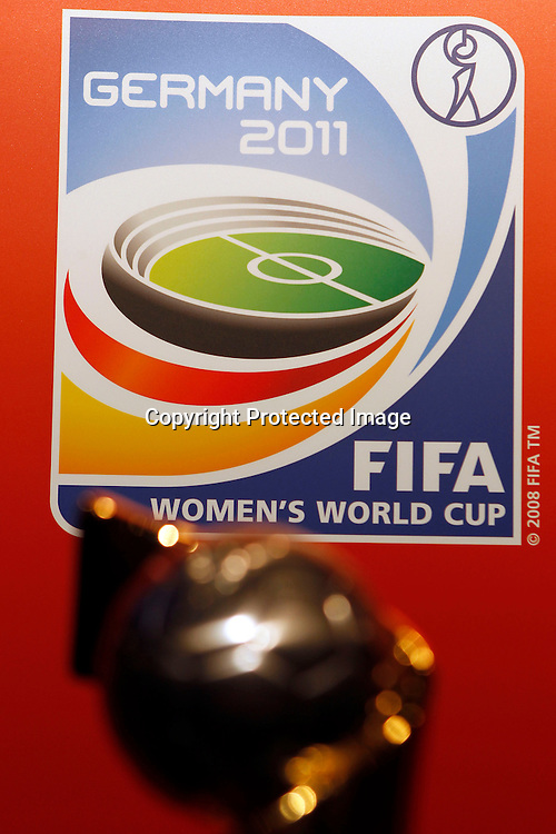 FIFA Women's World Cup Trophy. Women's Football Conference, Crowne Plaza Hotel, Auckland, Friday 10th December 2010. Photo: Shane Wenzlick