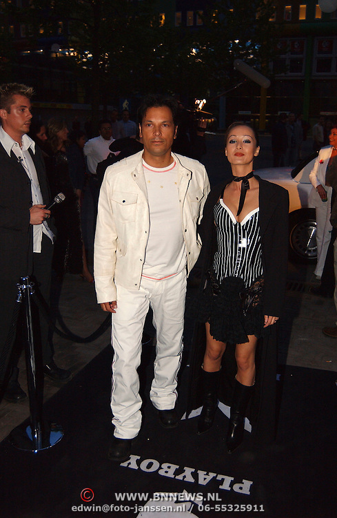 Playboyfeest 2003, Mike Kepel en Jennifer de Jong