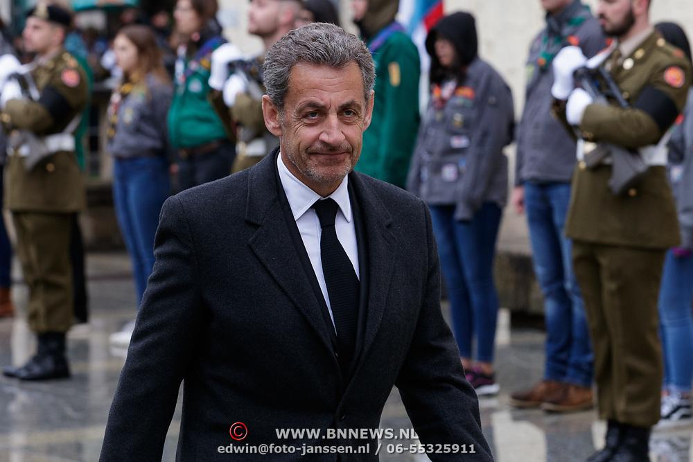 LUX/Luxemburg/20190504 -  Funeral<br /> of HRH Grand Duke Jean, Uitvaart Groothertog Jean,politicus Nicolas Sarkozy