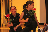 4592 - Hyde Park's I Twirl Dance performed Saturday evening at Kenwood Academy. Like all of the students who performed, Nyloni Naylor and Ava Battle received roses at the end of the night.