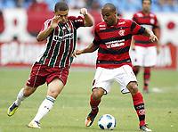 20111009: RJ, BRAZIL -  Football match between Flamengo and Fluminense at Engenhao stadium in Rio de Janeiro. In picture Deivid<br /> PHOTO: CITYFILES