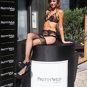 NLD/Amsterdam/20130905 - Lancering lingerielijn Pretty Wild, model